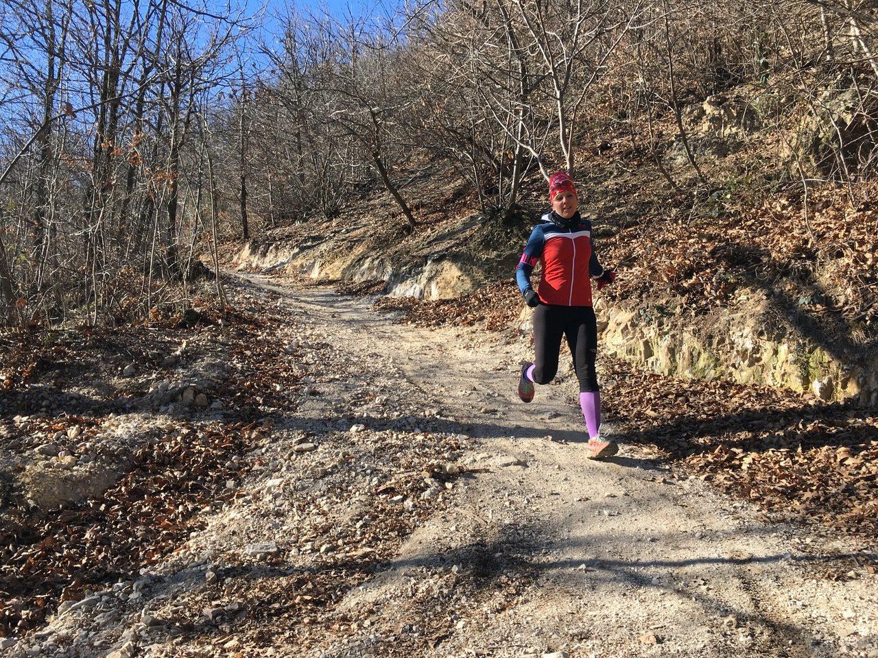 allenamento invernale trail running