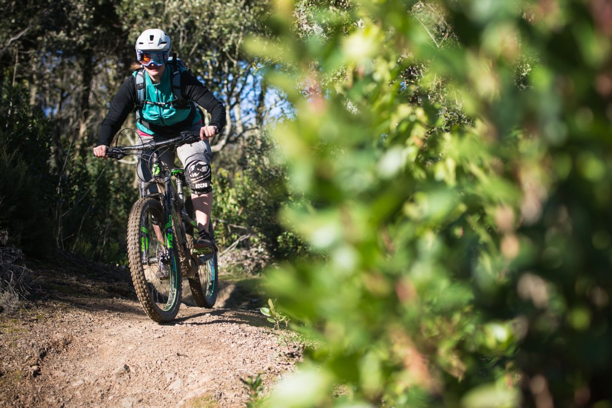 pedalare d'inverno Pati sui trails di Massa Marittima