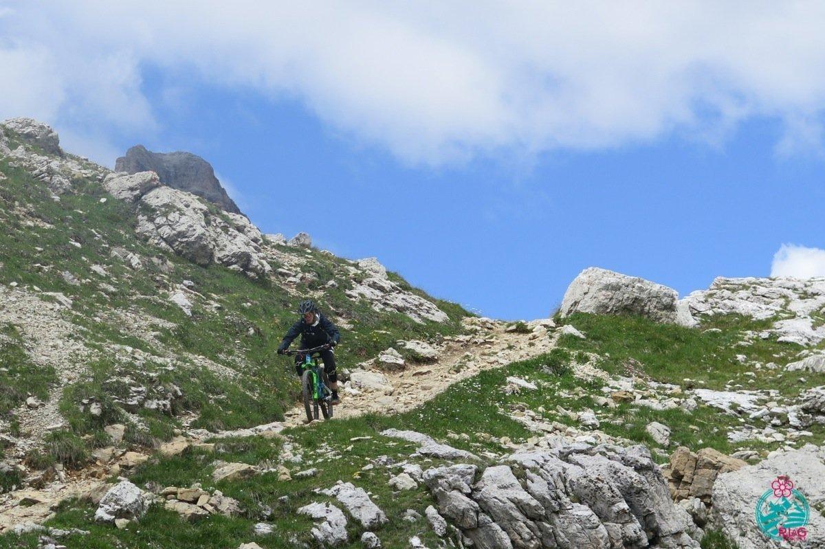 cortina in mountain bike dolomiti