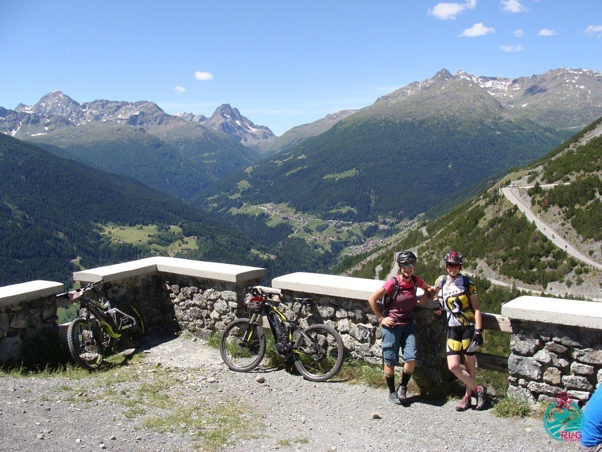 vacanza in e-bike e terme a Bormio