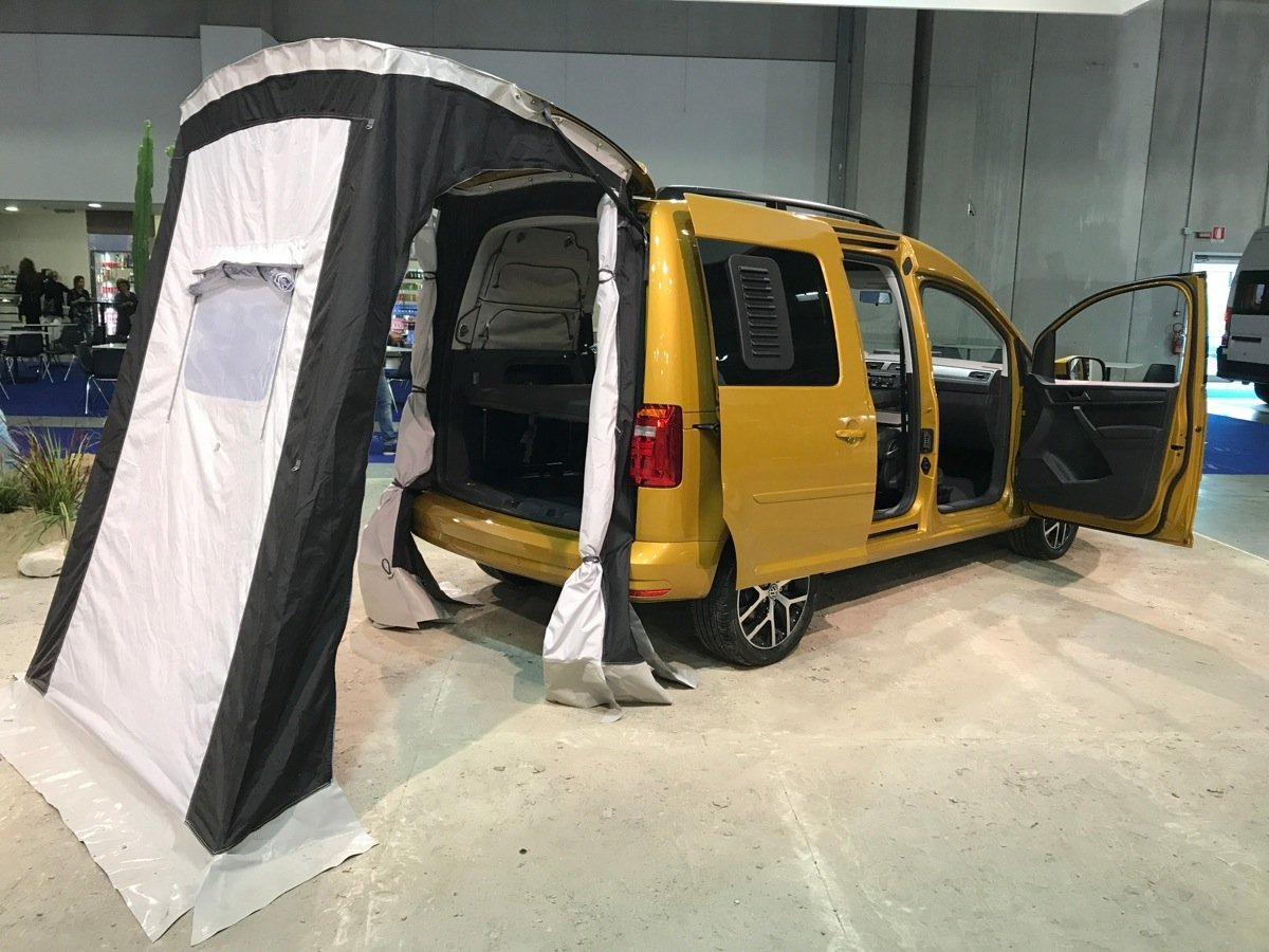 Travel with the Volkswagen Bicycle Caddy Beach