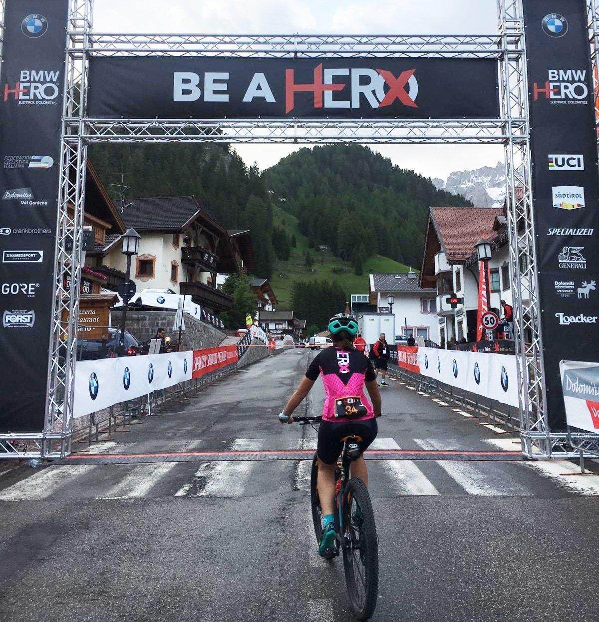 Hero dolomites 2019 finisher