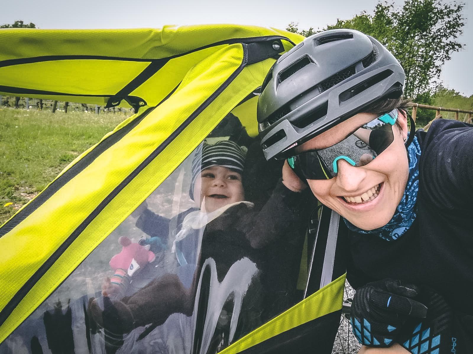 vacanza in bici con i bambini - Giulia e Bruno