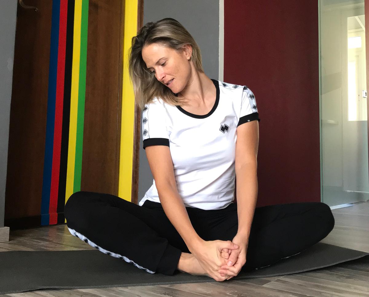 allenamento a casa pilates
