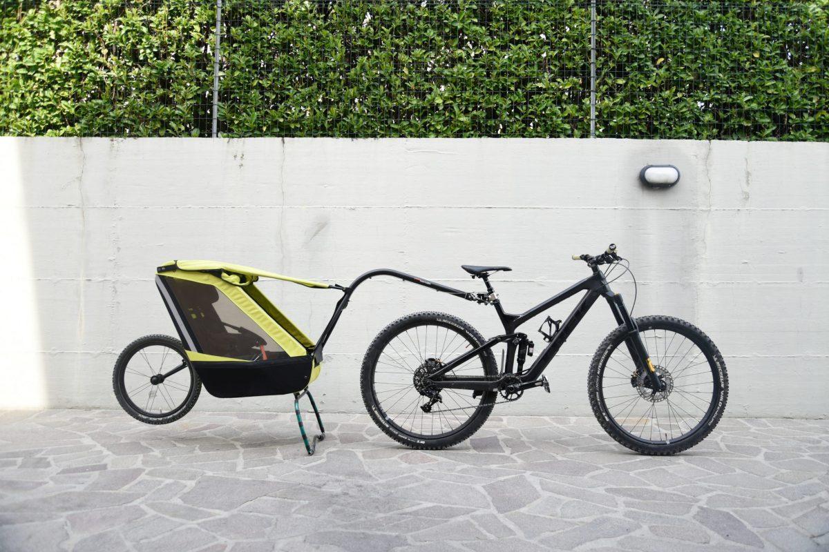 Come si installa il carrello bici di Tout Terrain alla mountain bike