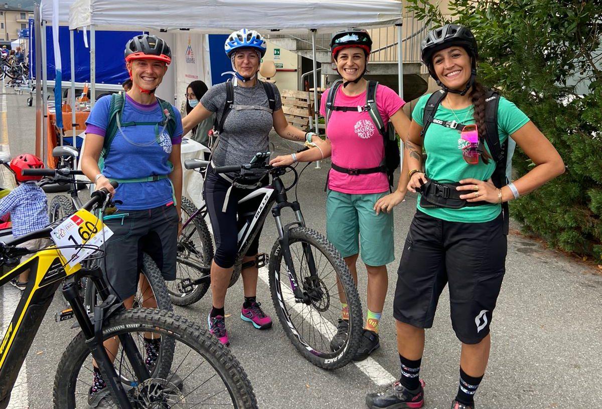 Ride like a Girl con Mamma Sportiva